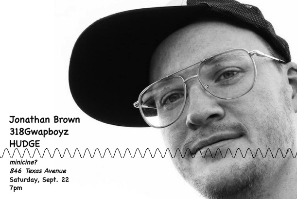 Flyer for Jonathan Brown
