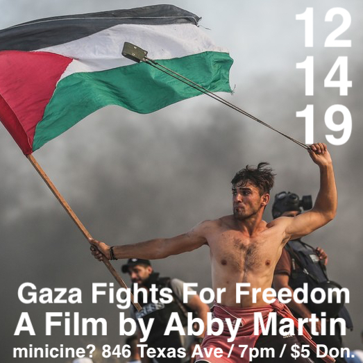 Gaza Fights for Freedom Flyer